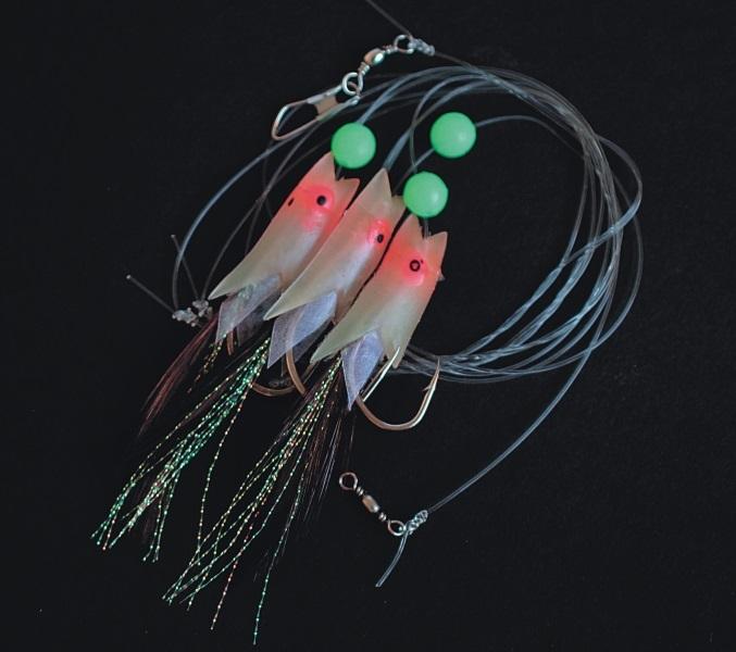 Albastar náväzec na more potravové rybky-veľkosť háčika 5/0