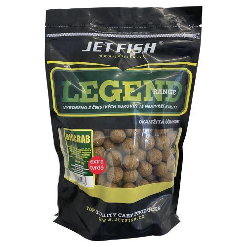 Jet Fish Extra Tvrdé Boilie Legend Range Biocrab 250 g