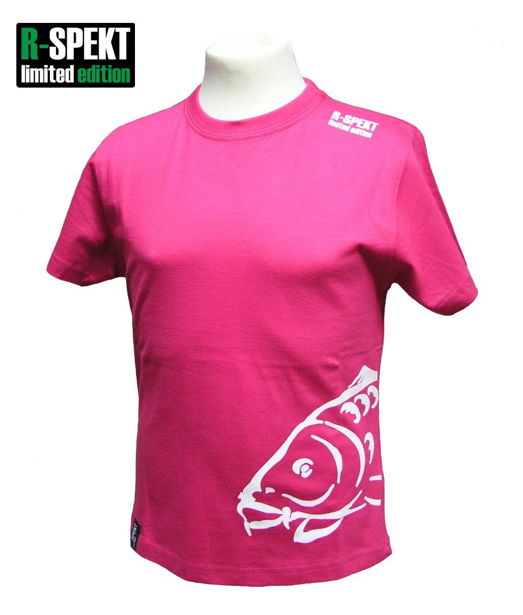 R-spekt detské tričko carper kids ružové-veľkosť 7/8 yrs