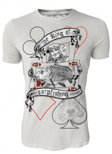 Hotspot tričko king of carpfishing-veľkosť xxl