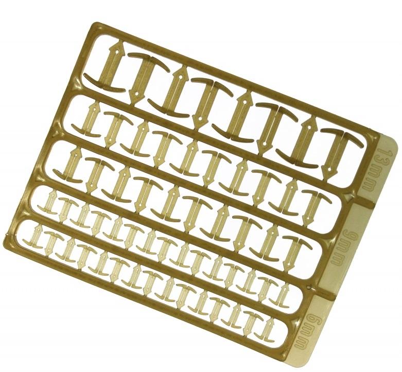 Extra carp zarážky stopper hnedá 6-9-13 mm