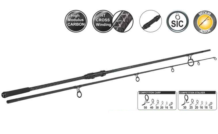 Sportex prút competition carp cs-4 3,66 m (12 ft) 3 lb