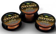 Kryston Náväzcová Šnúrka Quicksilver Gold 20 m-Nosnosť 45 lb