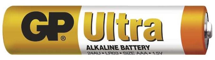 Gp batteries alkalická bateria gp ultra lr03 (aaa) 1 ks
