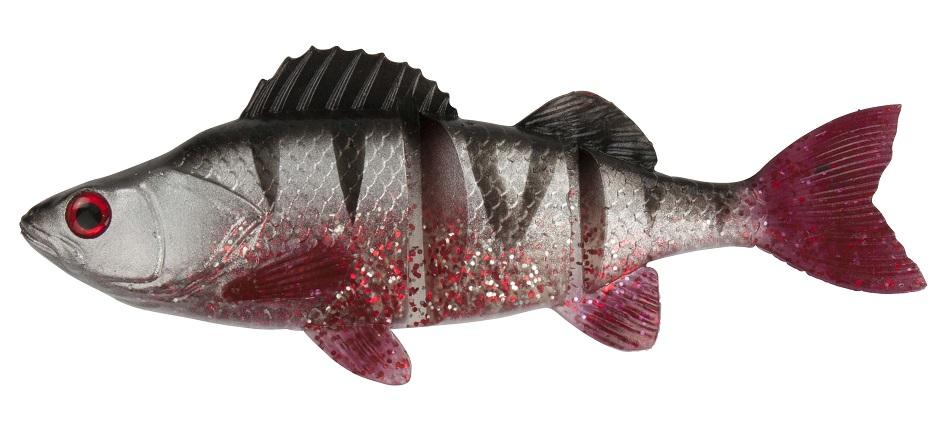 Dam gumová nástraha effzett natural perch silver - 14 cm 35 g