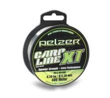 Pelzer Vlasec Carp Line XT Green 400 m-Priemer 0,35 mm / Nosnosť 12,1 kg