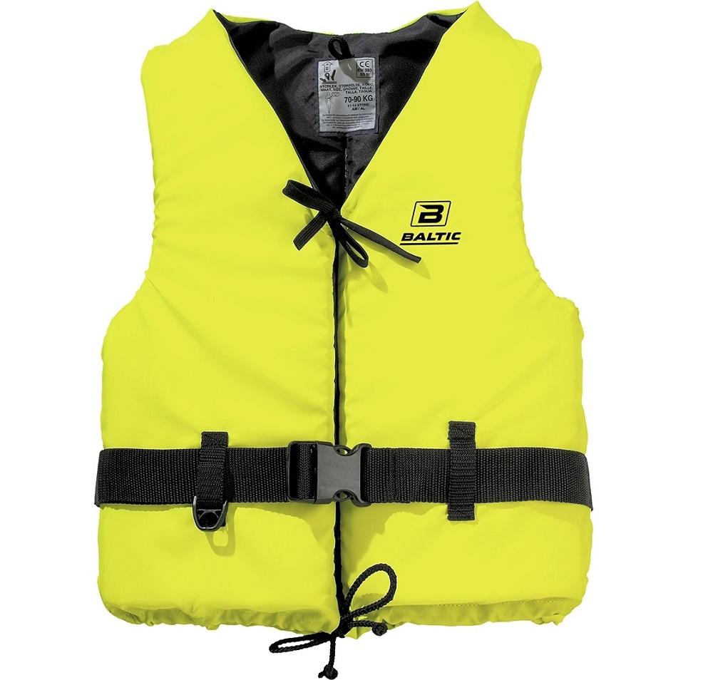Baltic vesta plávacia aqua 50n žltá-veľkosť l 70-90 kg