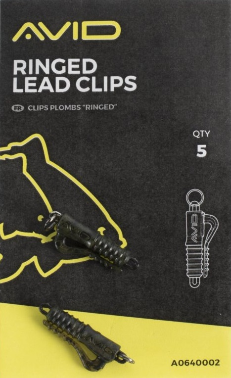 Avid carp záveska outline qc lead clips