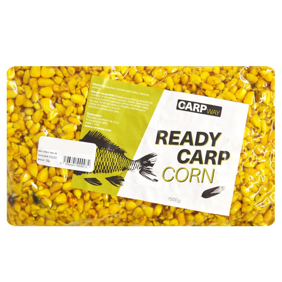 Carpway kukurica ready carp corn 1,5 kg - natural