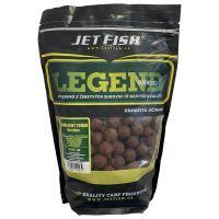 Jet Fish Boilie LEGEND Korenený tuniak + A.C. broskyňa - 200 g 12 mm