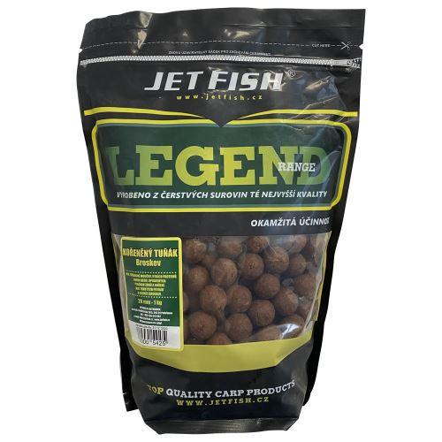 Jet Fish Boilie LEGEND Korenený tuniak + A.C. broskyňa