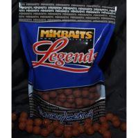 Mikbaits boilie Legends 1 kg 20 mm-BigMiKs + BigS Oliheň&Javor