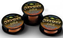 Kryston Náväzcová Šnúrka Quicksilver Gold 20 m-Nosnosť 35 lb
