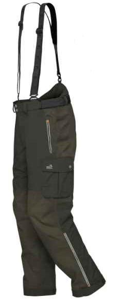 Geoff anderson nohavice urus 6 zelené - veľkosť xxl