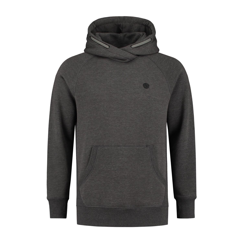 Korda mikina le tk hoodie charcoal-veľkosť xxxl