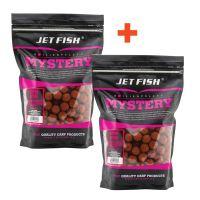 Jet Fish Boilie Mystery Super Spice 3 kg 24 mm 1+1 Zdarma